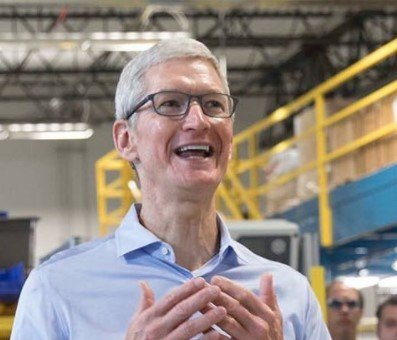 Ачто это вштанах углавы Apple? Какой большой iPhone8!