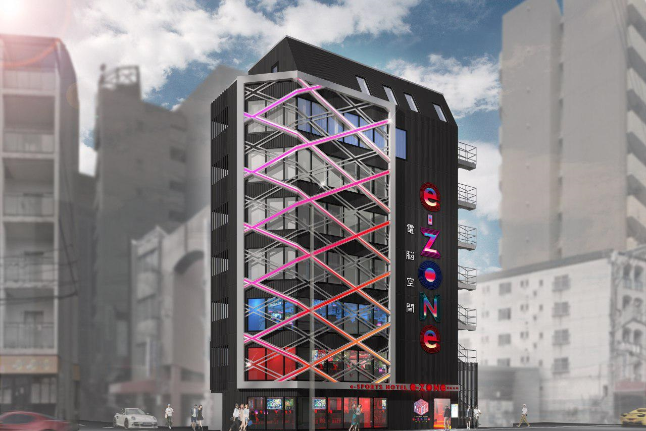 В Японии откроется первый киберспортивный отель. Вот его фото