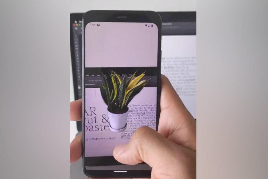 ИИнаучил камеру смартфона брать объекты изреального мира ивставлять ихвPhotoshop