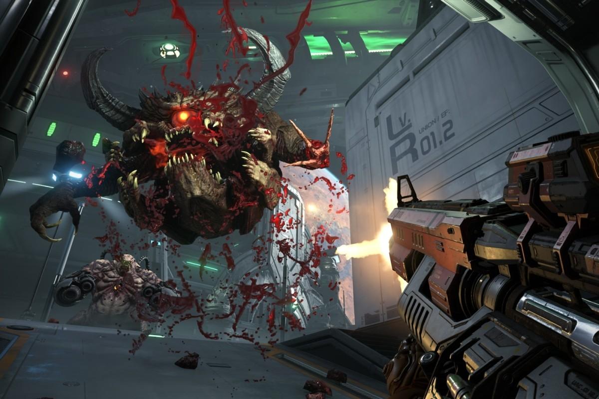 10 первых минут геймплея Doom Eternal: кровь, скорость, мертвые демоны