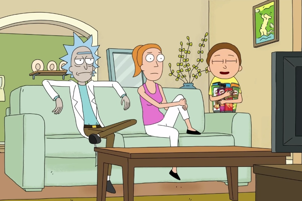 Герои «Рика иМорти» застряли врекламе чипсов Pringles вновом забавном видео