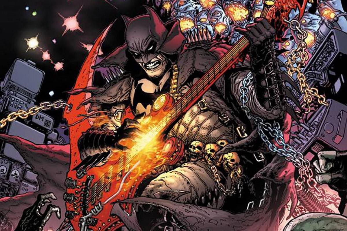 Бэтмен-динозавр иЧудо-женщина сбензопилой впервом выпуске Dark Nights: Death Metal