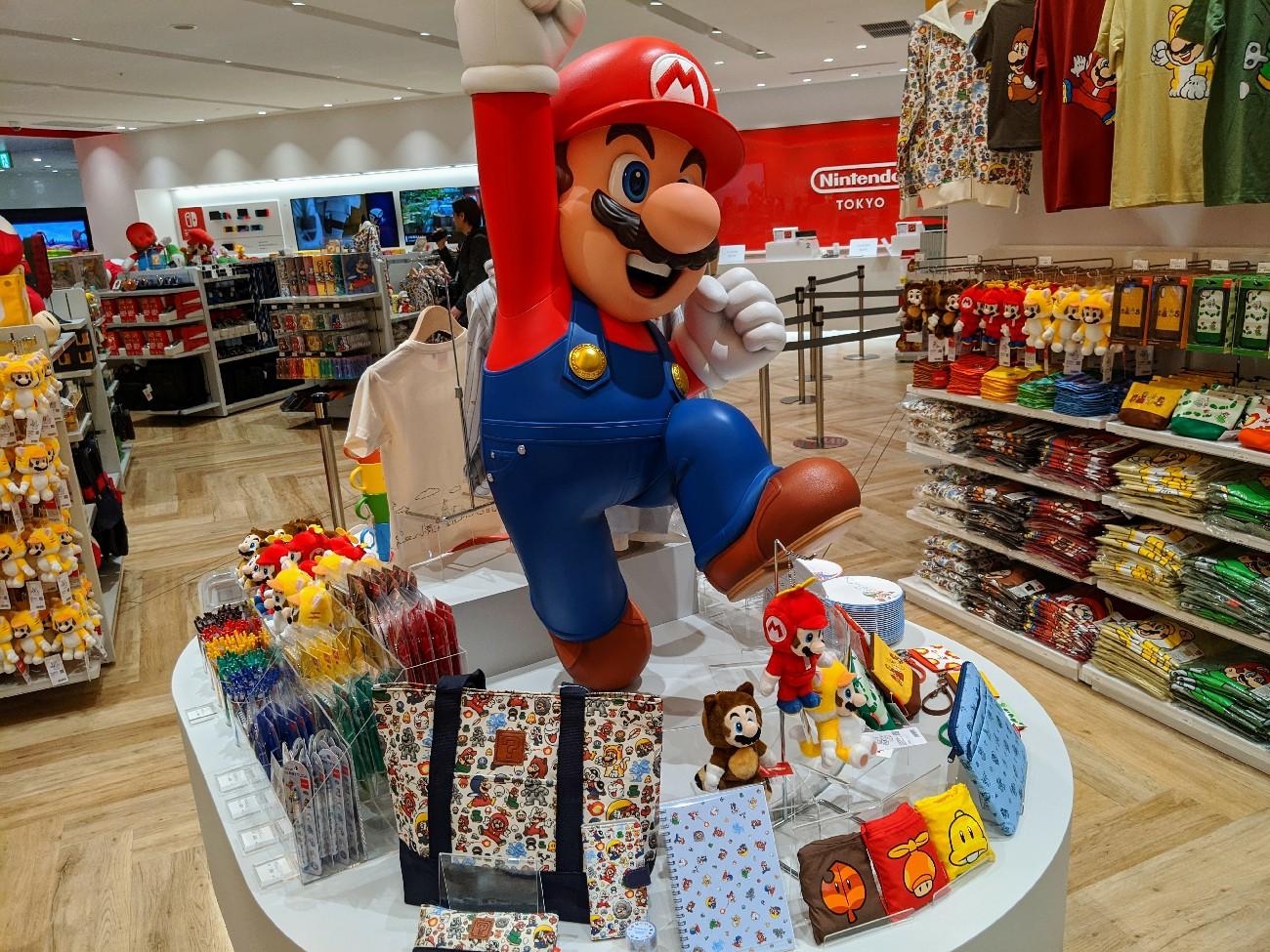 Nintendo открыла первый фирменный магазин вЯпонии. Фото