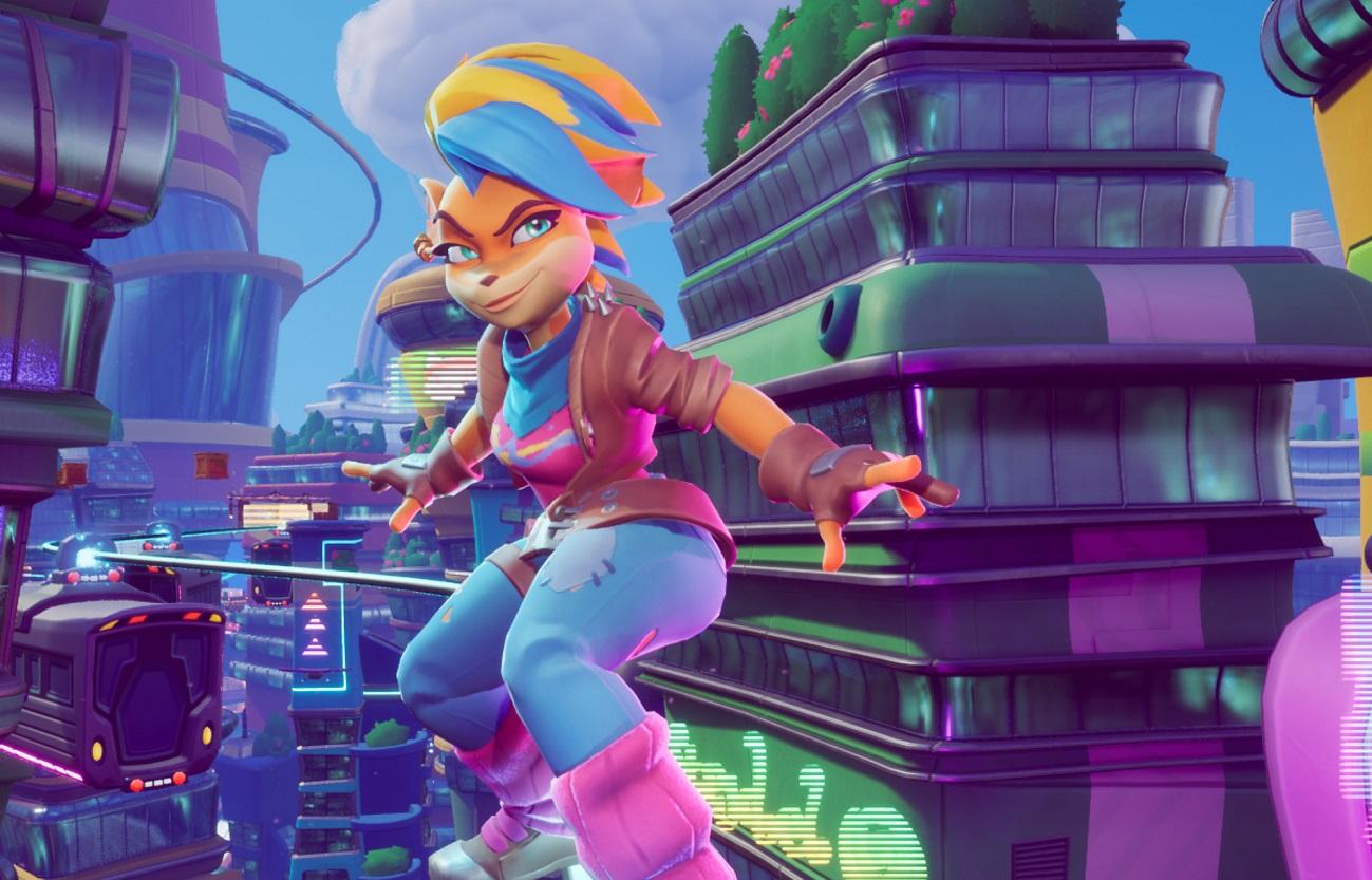 Авторы Crash Bandicoot показали геймплей занового игрового персонажа