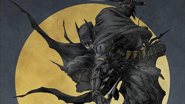 Бэтмен скатаной против Джокера впервом трейлере аниме «Бэтмен: Ниндзя»