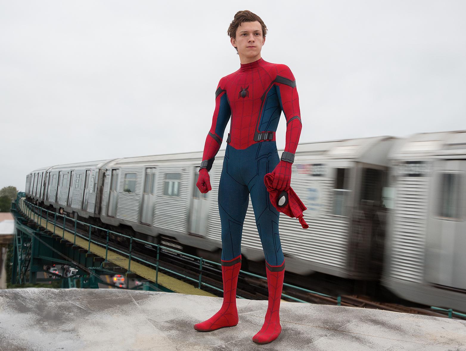 Художник показал концепт-арт фильма «Человек-паук» сХолландом. Онвдохновлен комиксом 1966 года