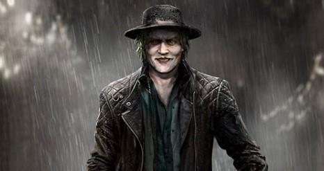 Джонни Депп вобразе Джокера. Это новый арт Bosslogic