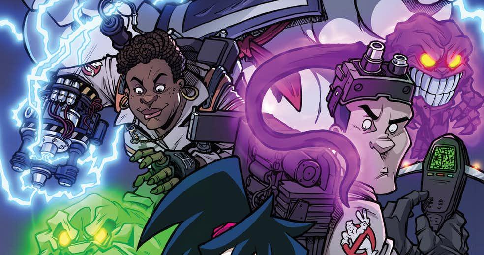 Вновом комиксе про Охотников запривидениями появятся все команды изфильмов, мультсериалов иигр