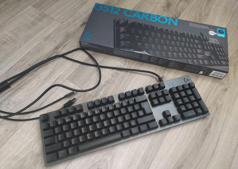 Обзор клавиатуры Logitech G512 Carbon— алюминиевый RGB-стиляга для геймеров