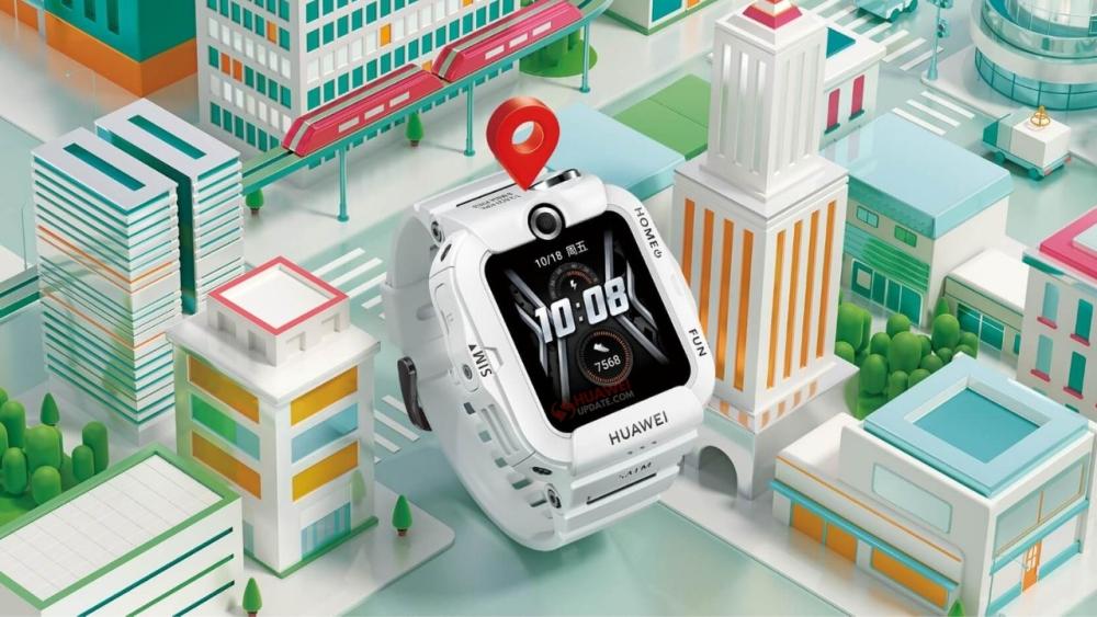 Детские смарт-часы Huawei Watch 4X получили эффектный дизайн, две камеры имодуль NFC