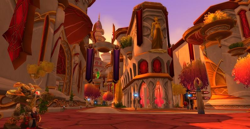 Энтузиастка воссоздала в The Sims 4 Луносвет из World of Warcraft. Получилось очень похоже