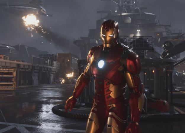 В сеть утек геймплей за Железного человека, Тора и Халка из Marvel's Avengers [обновлено]