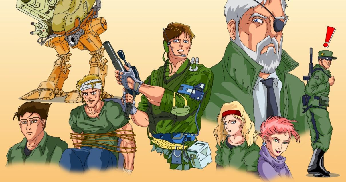 Классические Metal Gear стали доступны вGOG