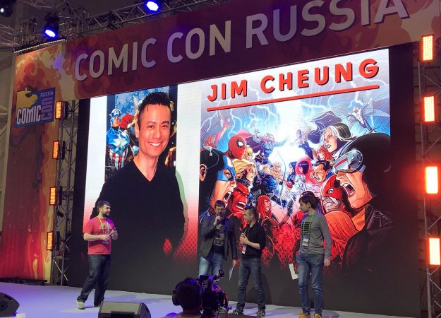 Суть. Мини-интервью схудожником Marvel Джимом Ченгом сComic Con Russia 2017
