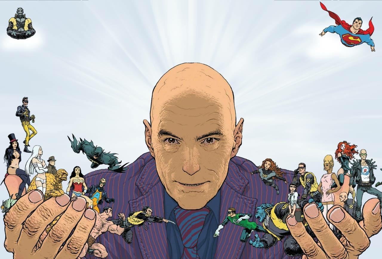 «Супербоги»— интересный взгляд насупергероев отодного изсамых знаменитых авторов комиксов