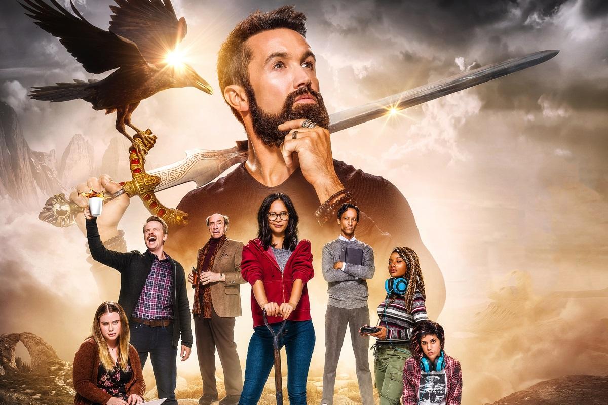 Рецензия на1 сезон сериала «Мифический квест: Пир ворона». Нацисты ивыкапывание пенисов вMMORPG