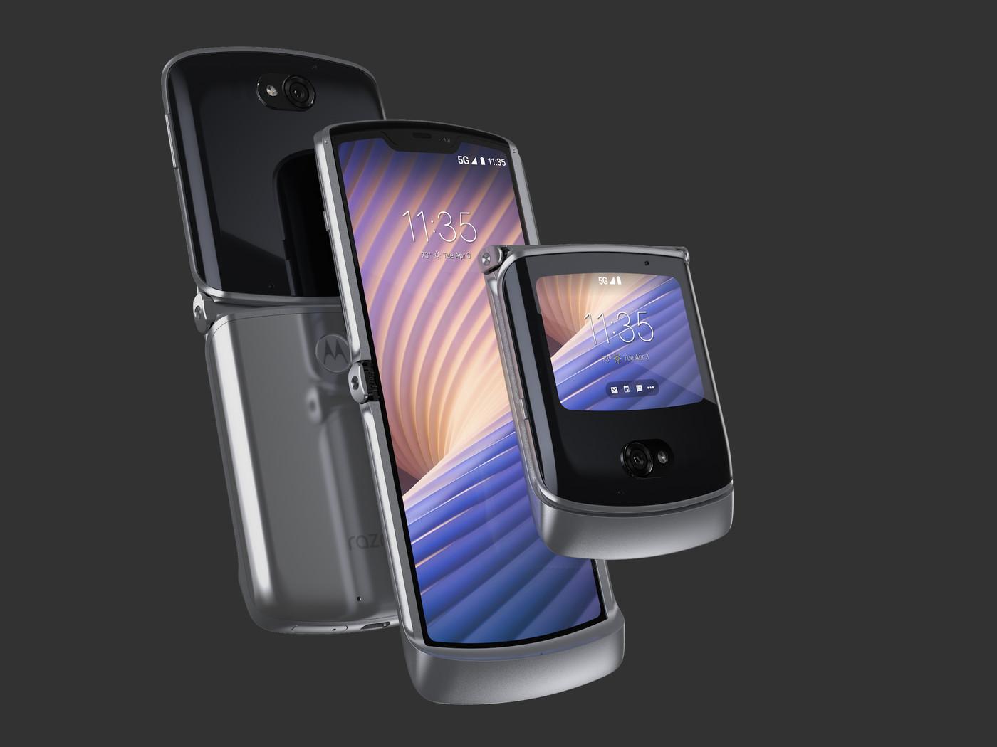 Motorola представила обновленную версию «раскладушки» Moto Razr 5G