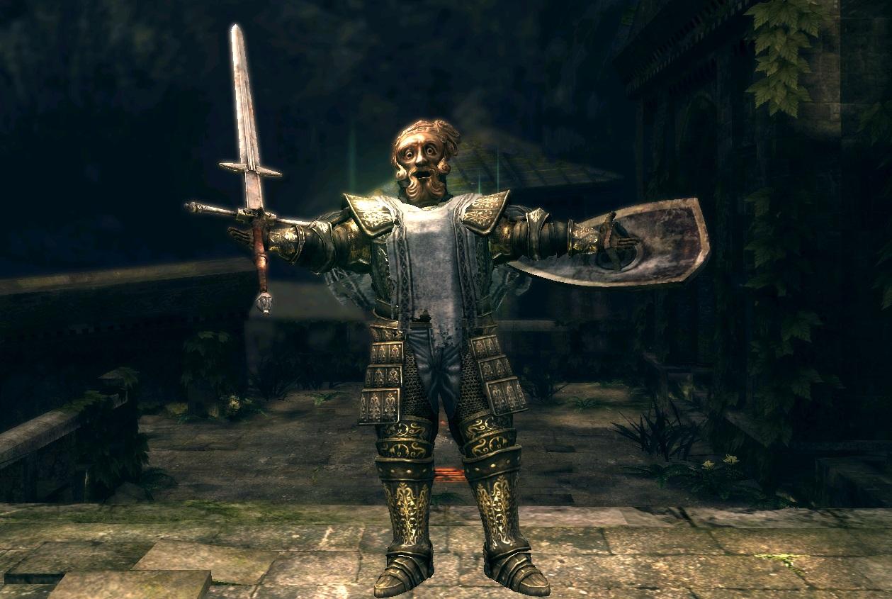 Игрок прошел Dark Souls и вообще не получил урона — даже от падений