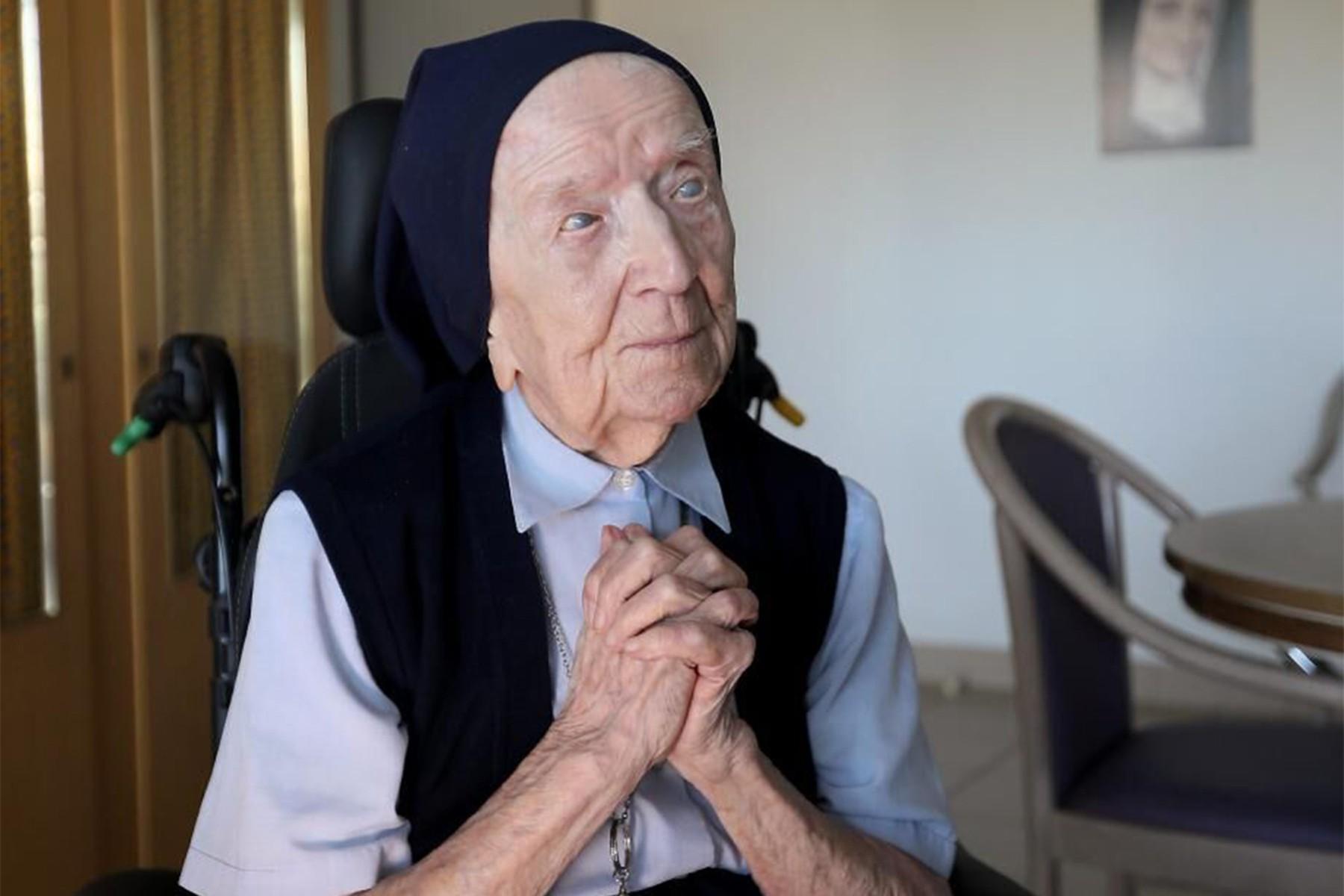 Самая старая жительница Европы выздоровела от COVID-19 за несколько дней до 117-летия