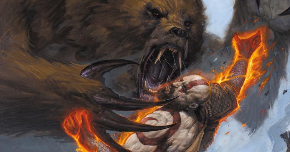 Что происходило сКратосом между оригинальной трилогией God ofWar иновой игрой? Узнаем вкомиксе!