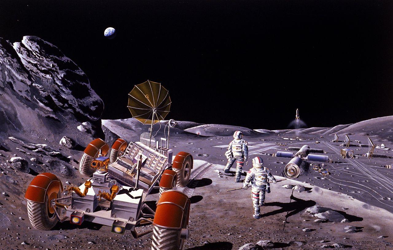 Свежие фантастические книги опокорении иисследовании Луны