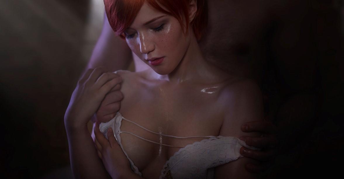 Русская девушка икосплей Шани из«Ведьмака»: нежная фотосессия
