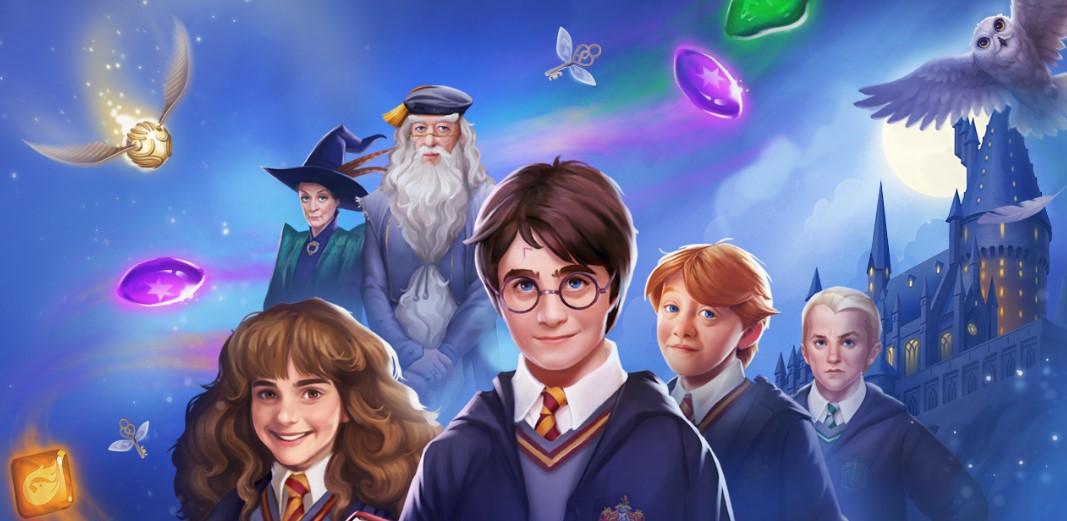 «Гарри Поттера» превратили вигру «три-в-ряд» для мобильных устройств