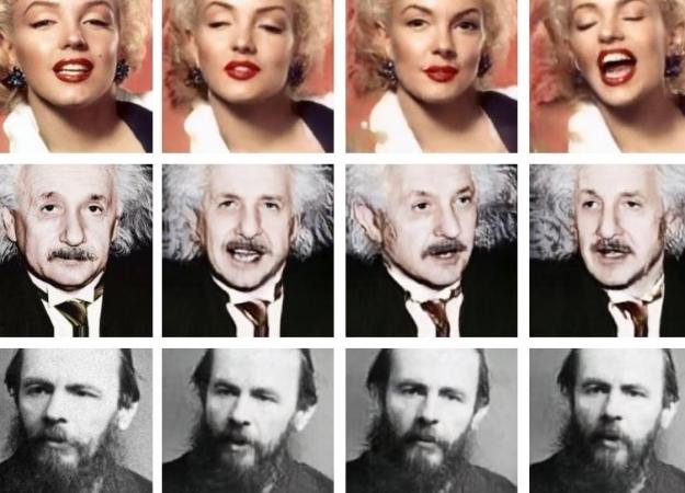 С помощью искусственного интеллекта Samsung превращает фотографии в говорящие головы