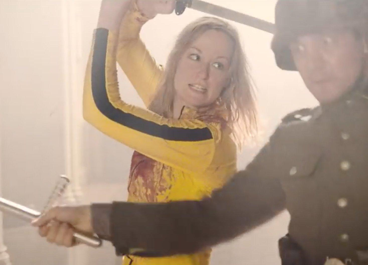 Пародия на «Отряд самоубийц» использует героев Тарантино