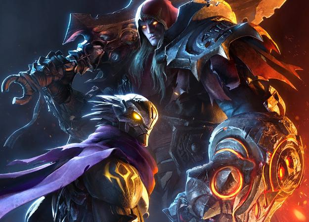 E3 2019. Darksiders: Genesis— вид сверху, кооператив ичетвертый Всадник