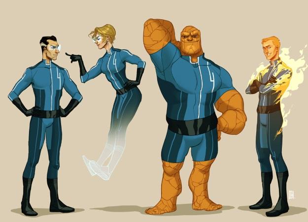 Marvel выпустили невероятно милое поздравление для фанатов Фантастической четверки
