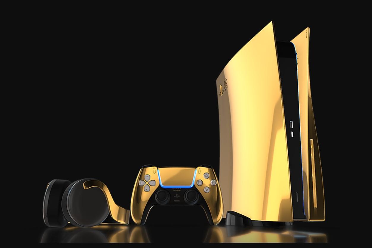 Лакшери бренд Truly Exquisite готовит квыходу золотую иплатиновую PlayStation5