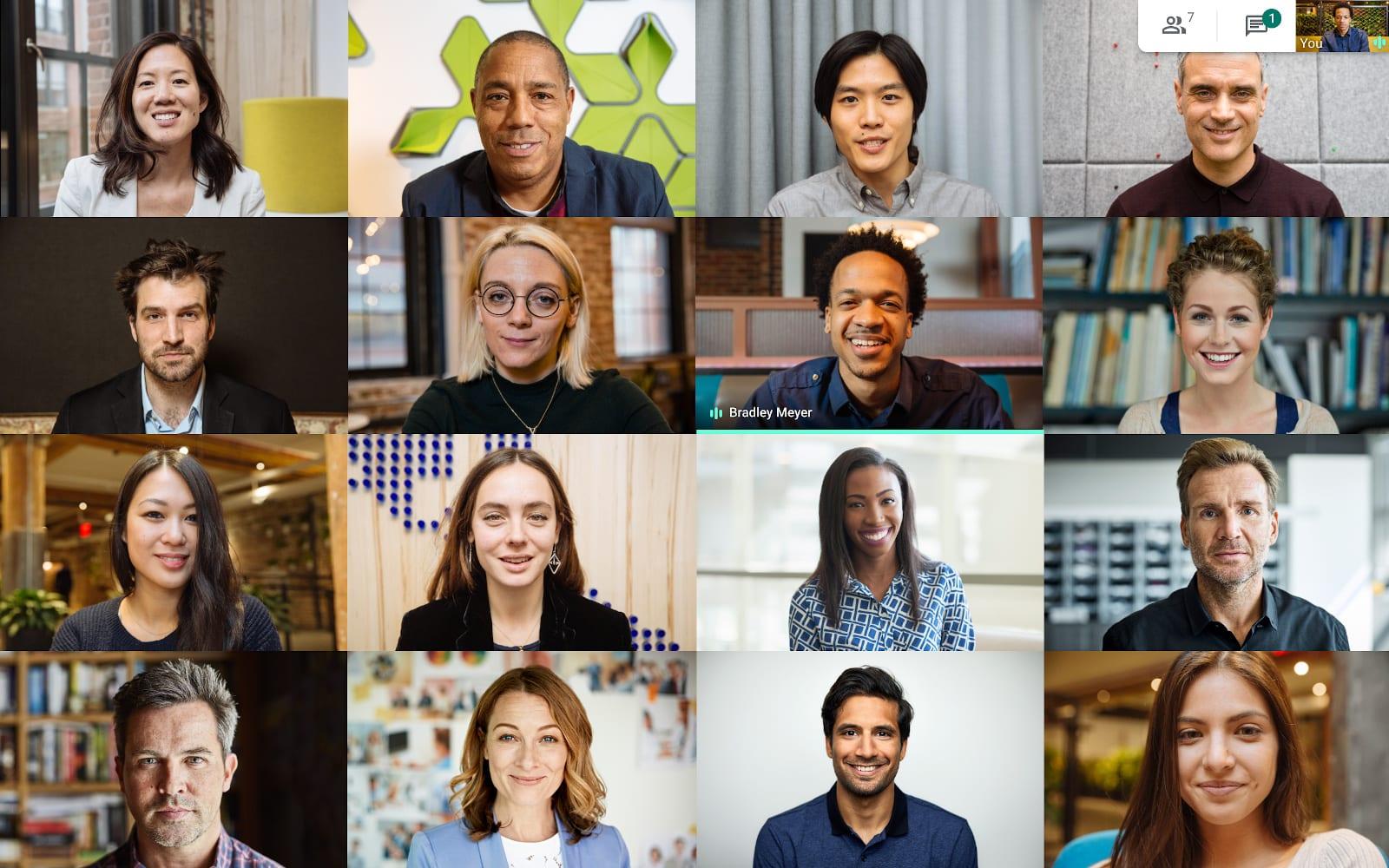 Сервис видеоконференций Google Meet открыли для всех желающих