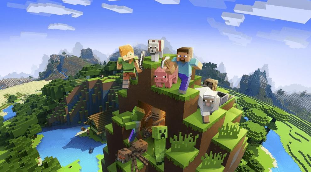Геймеры смогли выяснить расположение мира иззаставки Minecraft