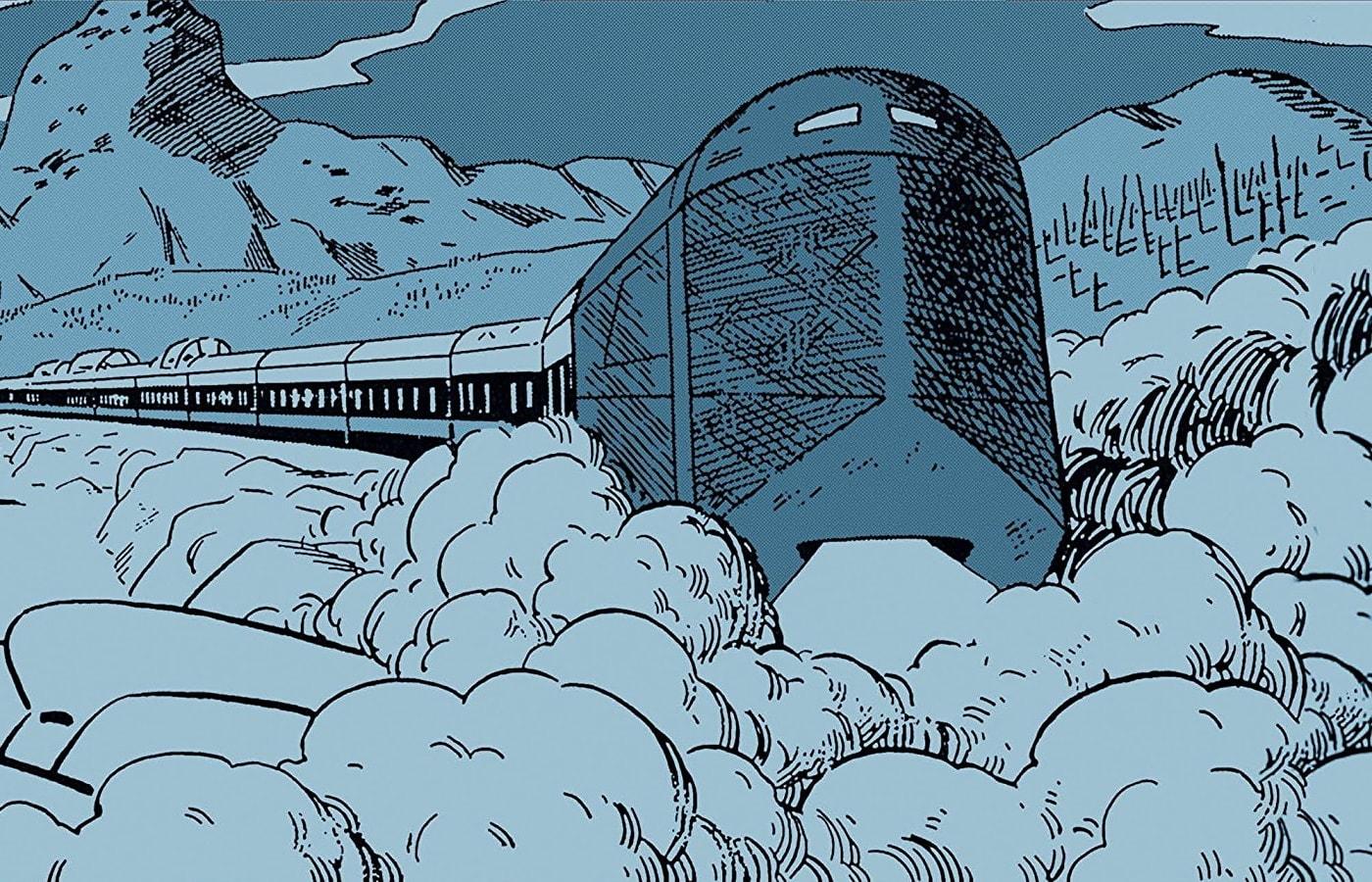 Мнение окомиксе «Сквозь снег». Грустное путешествие, аневеликая революция