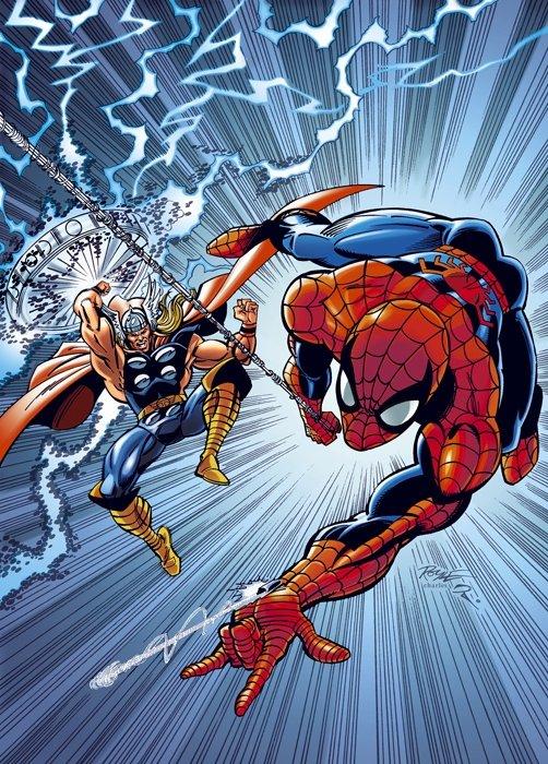 Человек-паук обставил Тора по гимнастике