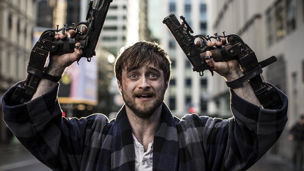 Зрители выбрали название для Guns Akimbo cДэниелом Рэдклиффом вроссийском прокате