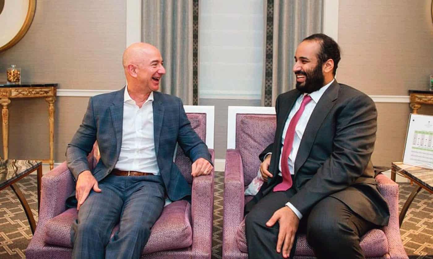 Саудовский принц отправил видео поWhatsApp боссу Amazon. Джеффу Безосу нестоило его смотреть