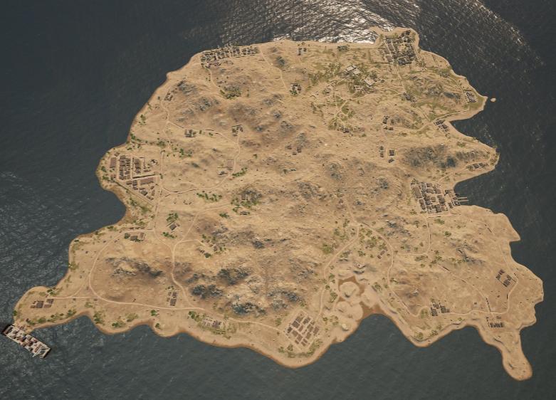 Карта Karakin в PUBG — как половина «Сосновки» на «Эрангеле»