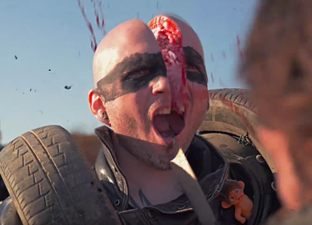NSFW. Посмотрите первый трейлер Commando Ninja! Это как Kung Fury, только больше и жестче