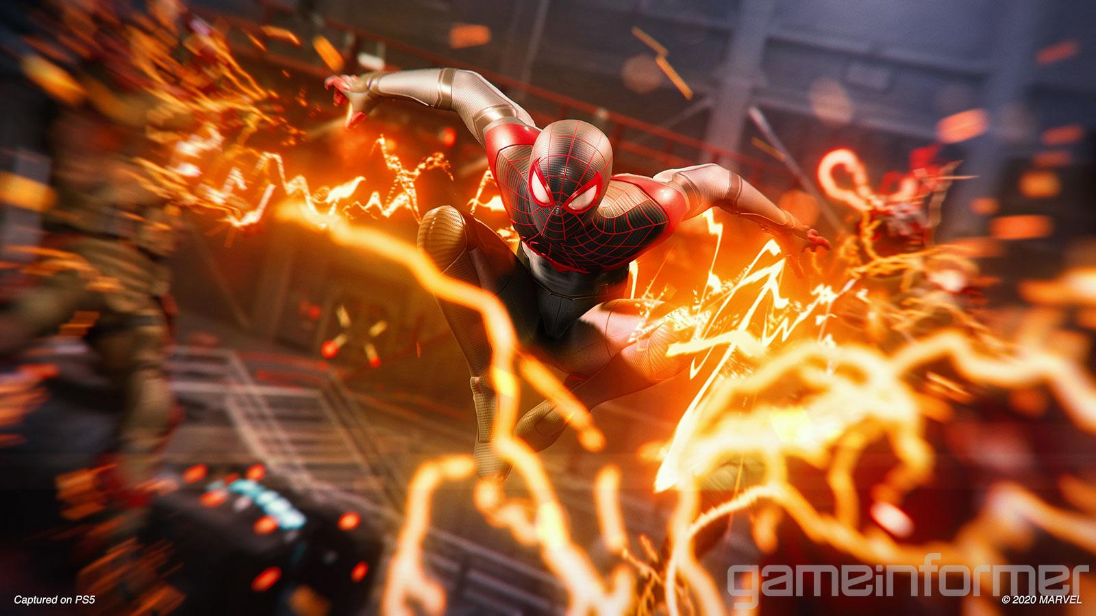 Game Informer поделился деталями, скриншотами игеймплейным роликом Spider-Man Miles Morales