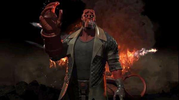Новые герои Injustice 2: Черная манта, Рейден иХЕЛЛБОЙ