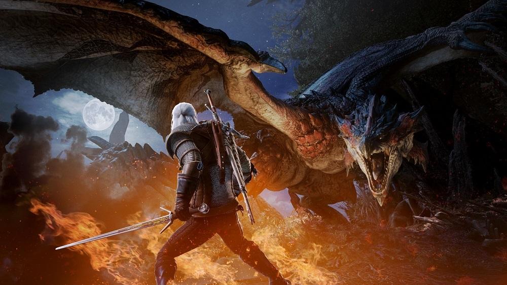 Разработчики Monster Hunter: World назвали дату выхода обновления с Геральтом и Цири из «Ведьмака 3»