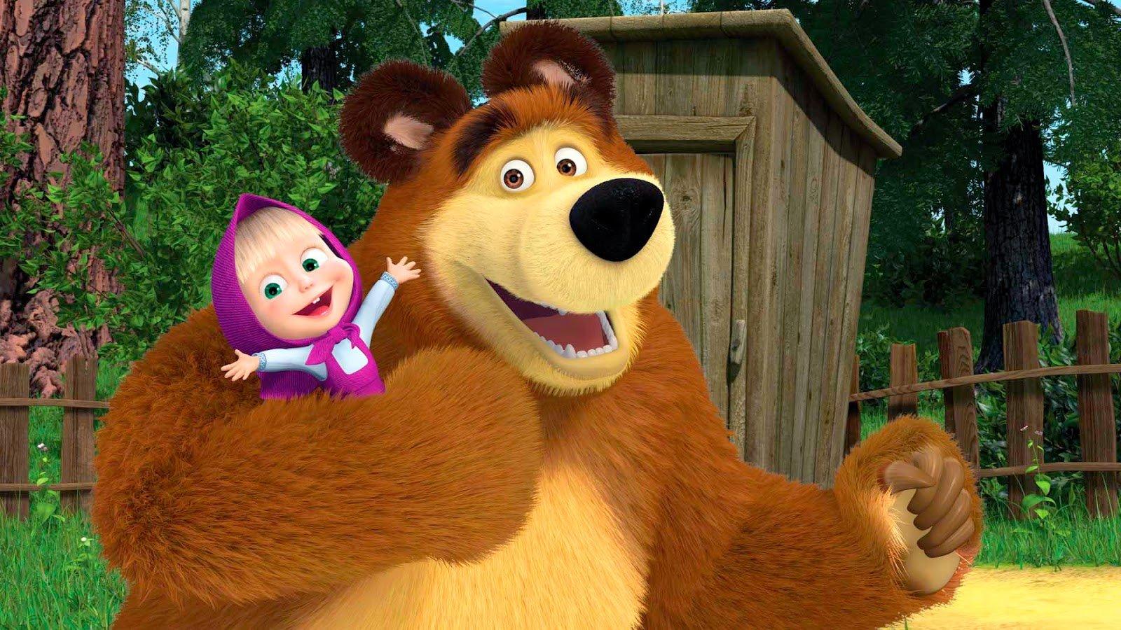 Российский мультсериал «Маша иМедведь» попал втоп самых востребованных вмире