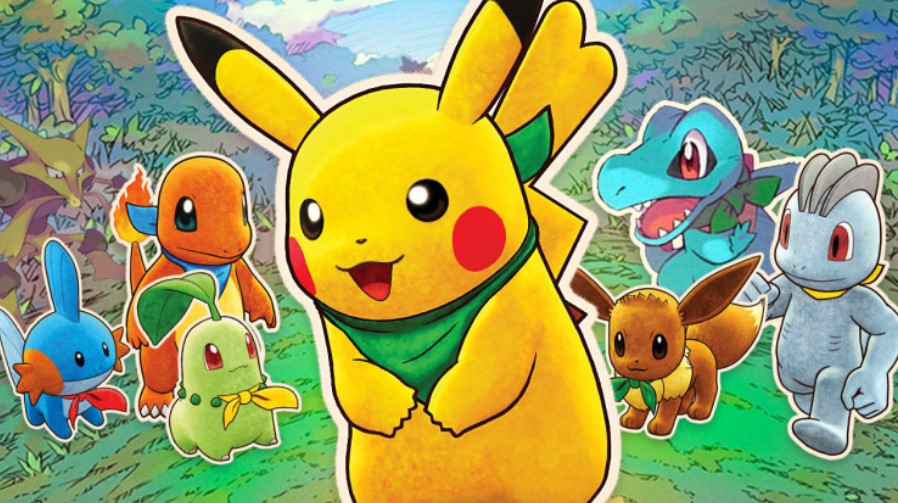 Покемоны снова в топе: Pokemon Mystery Dungeon покорила британский чарт продаж