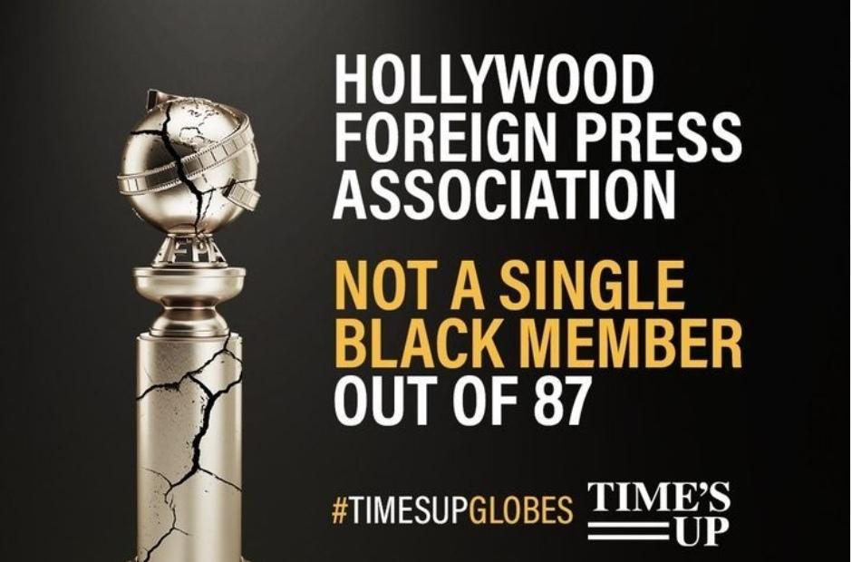 Организаторов кинопремии «Золотой глобус» заставили добавить в жюри чернокожих