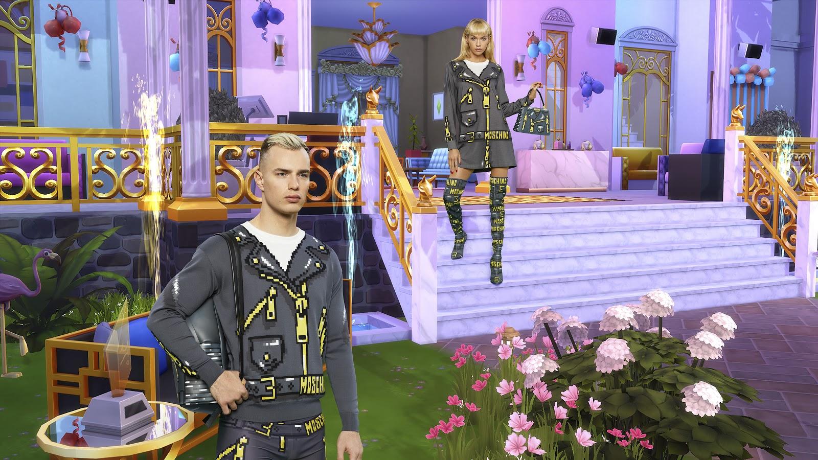 Итальянский бренд показал новую коллекцию одежды в стиле The Sims. Выглядит безумно странно!