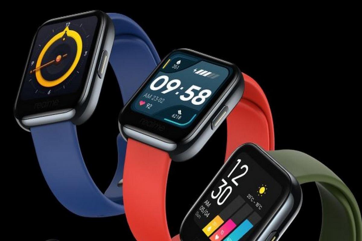 Водонепроницаемые смарт-часы Realme Watch похожи наApple Watch истоят 3800 рублей