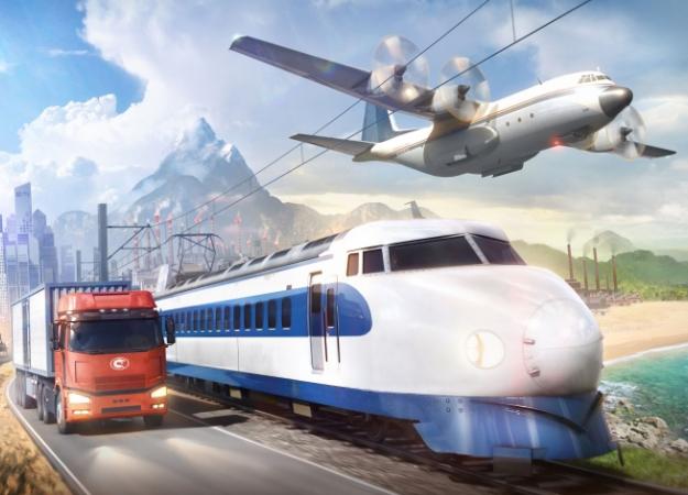 2 часа сTransport Fever 2— игрой, где можно застроить железными дорогами все что угодно
