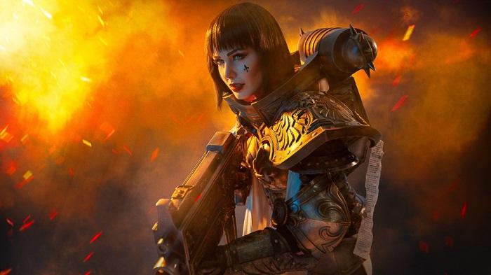 За Императора! Посмотрите на чудесный косплей сестер-репентий и сестер битвы из Warhammer 40,000